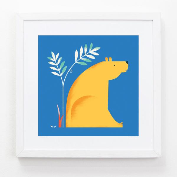 Bear Children's Art Print