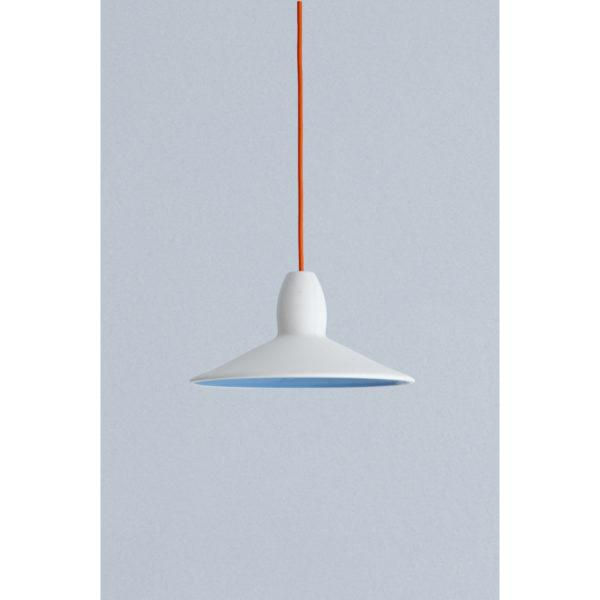 Half Spun Ceramic Pendant Light