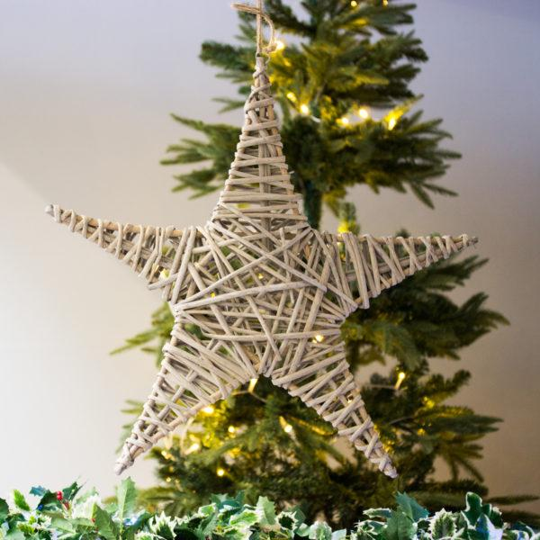 Christmas Woven Star Christmas Decoration