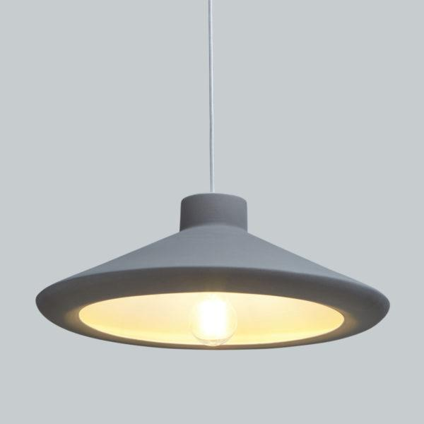 Bouy Grey Ceramic Pendant Light
