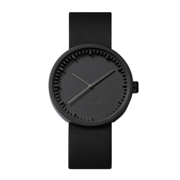 Tube Watch Black Steel/Black