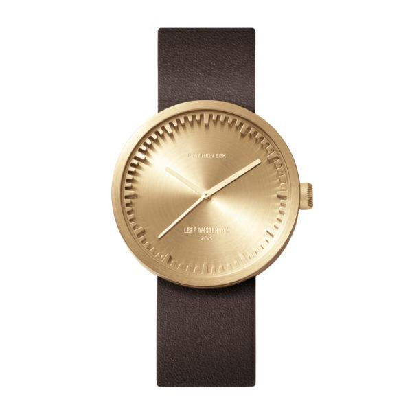 Tube Watch Brass/Brown