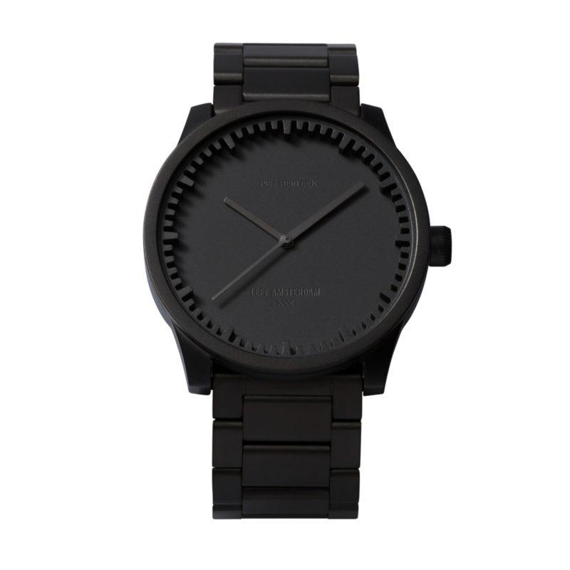 Tube Watch Black Steel