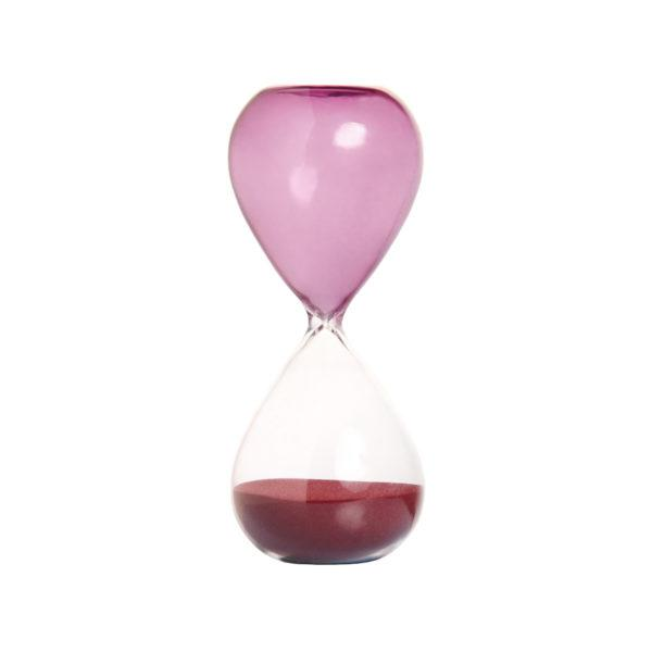 Purple Cylinder Hourglass