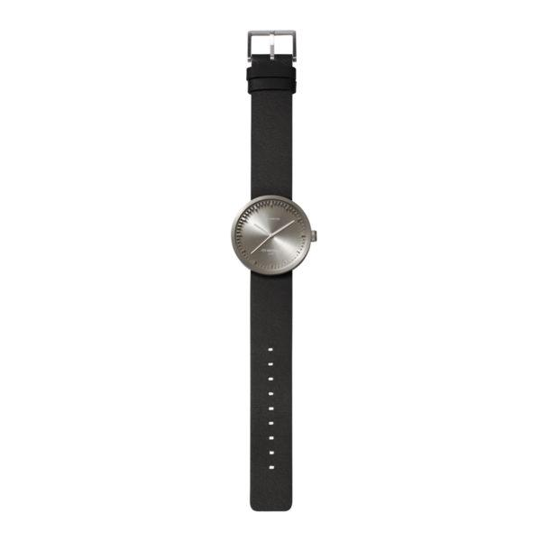 Tube Watch Steel/Black