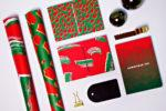 Christmas Animal Gift Wrap Sheet