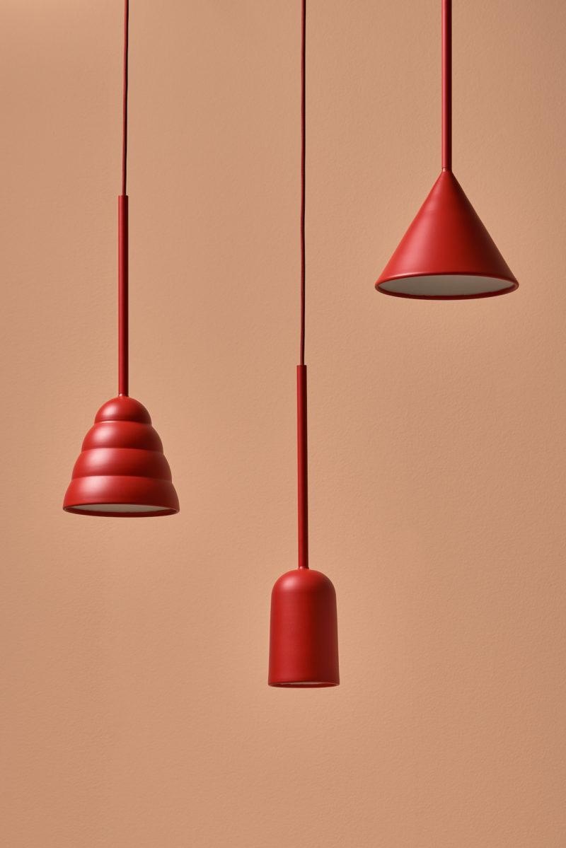 Figura Stream Pendant Light - Burnt Orange