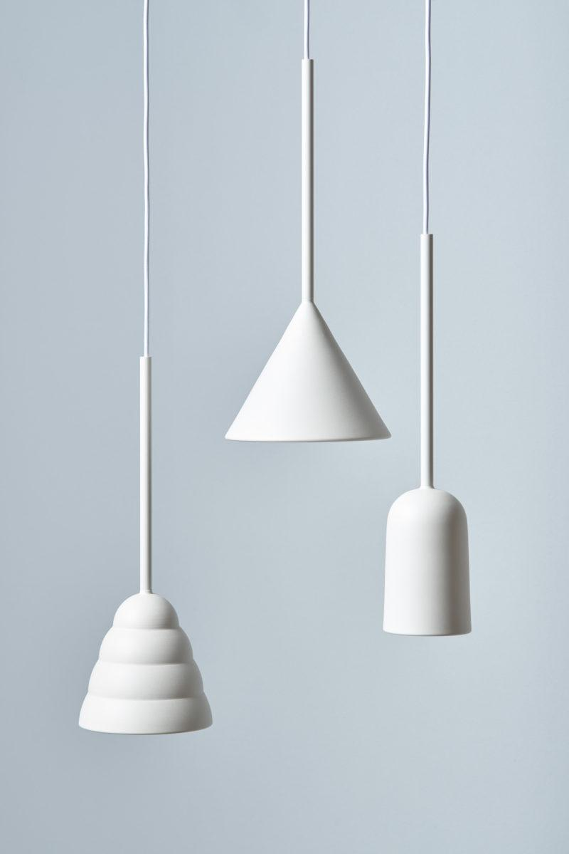 Figura Cone Pendant Light - Soft White