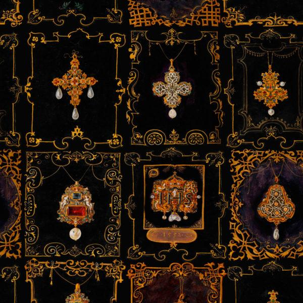 Anna's Jewelry Neutral Wallpaper