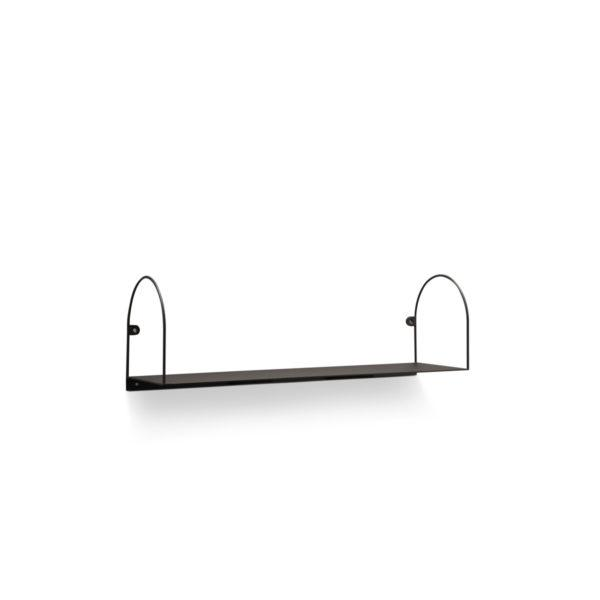 Bow Shelf Grey 50/80cm