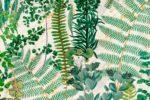 Green Sanctuary Anthracite Wallpaper