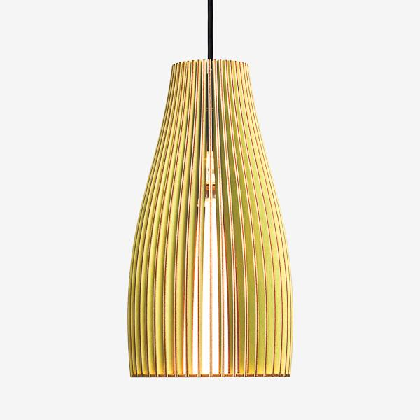 Ena Large Birch Ply Pendant Light
