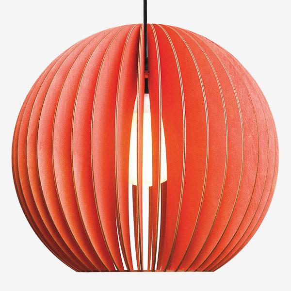 Aion Extra Large Birch Ply Pendant Light