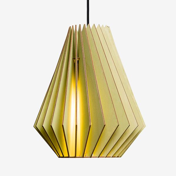 Hektor Large Birch Ply Pendant Light