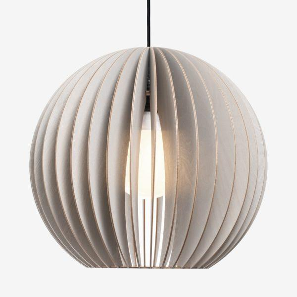 Aion Large Birch Ply Pendant Light