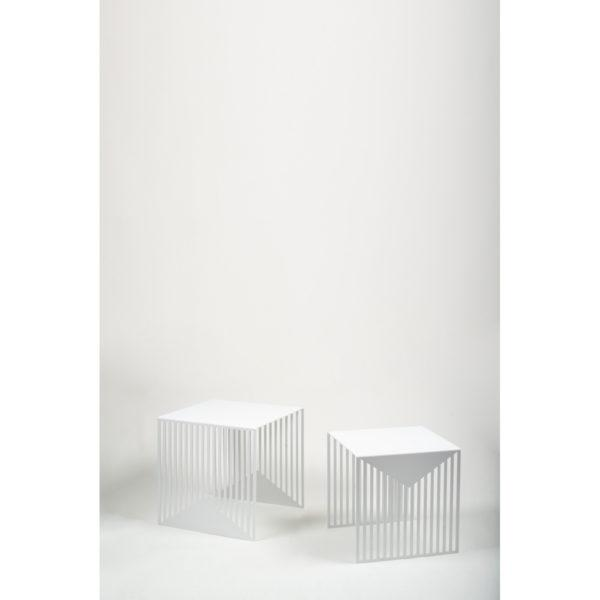 Zick Zack Table White - Set of 2