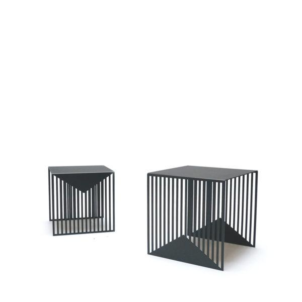 Zick Zack Table Black - Set of 2
