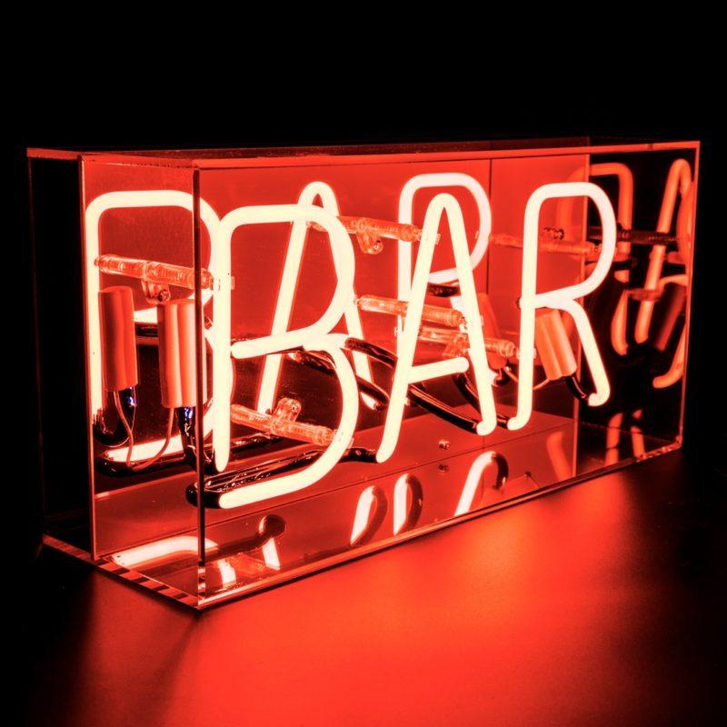Bar Acrylic Neon Light Box