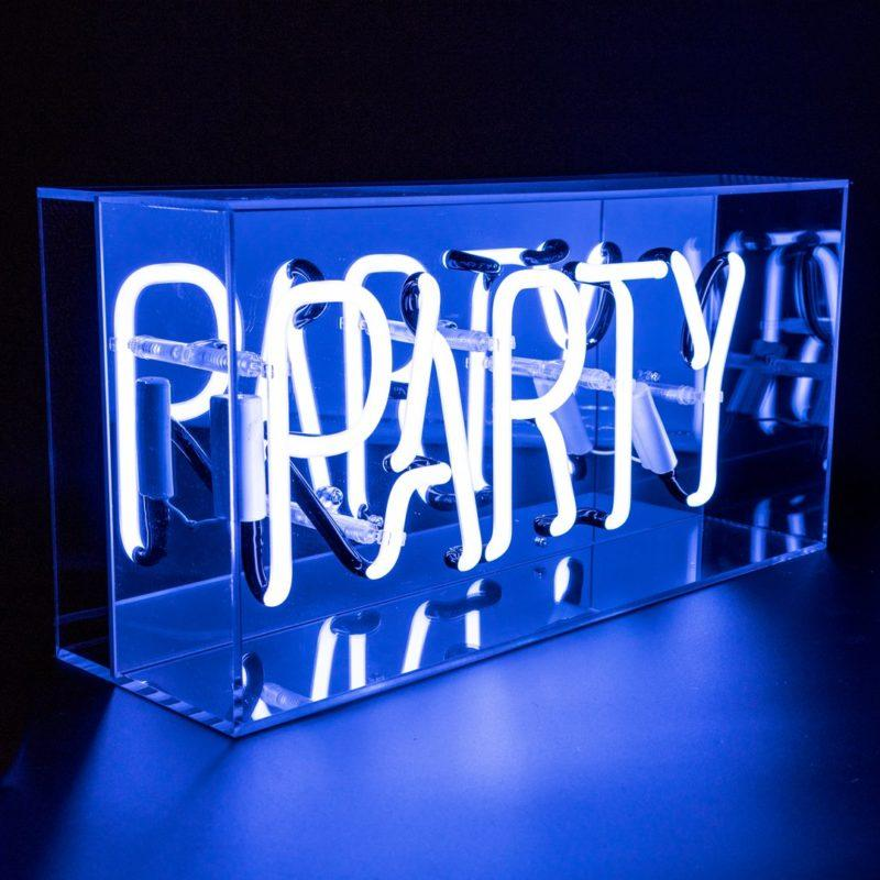 Party Acrylic Neon Light Box