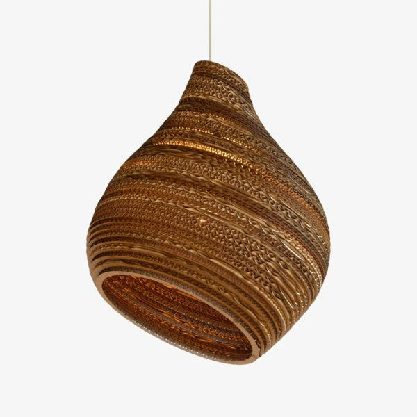 Hive Scraplights Recycled Pendant Light - Natural