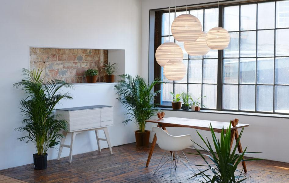 Ausi Scraplights Recycled Pendant Light - White