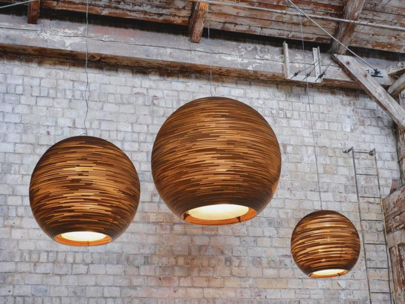 Oliv Scraplights Recycled Pendant Light - Natural