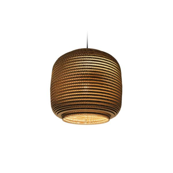 Ausi Scraplights Recycled Pendant Light - Natural