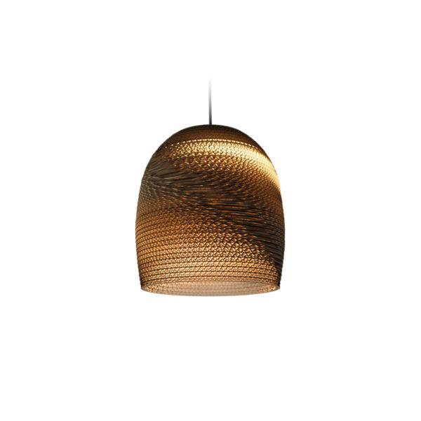 Bell Scraplights Recycled Pendant Light - Natural