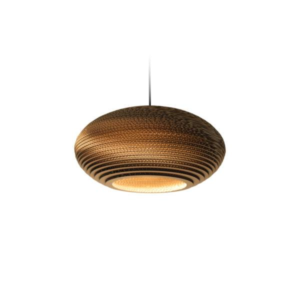 Disc Scraplights Recycled Pendant Light - Natural