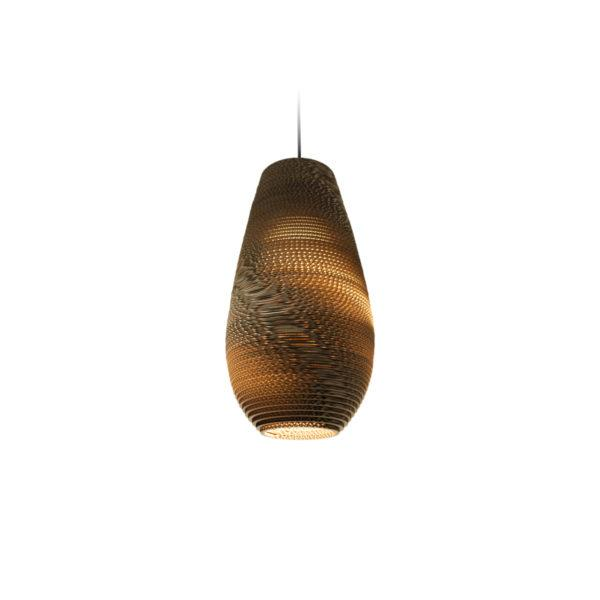 Drop Scraplights Recycled Pendant Light - Natural