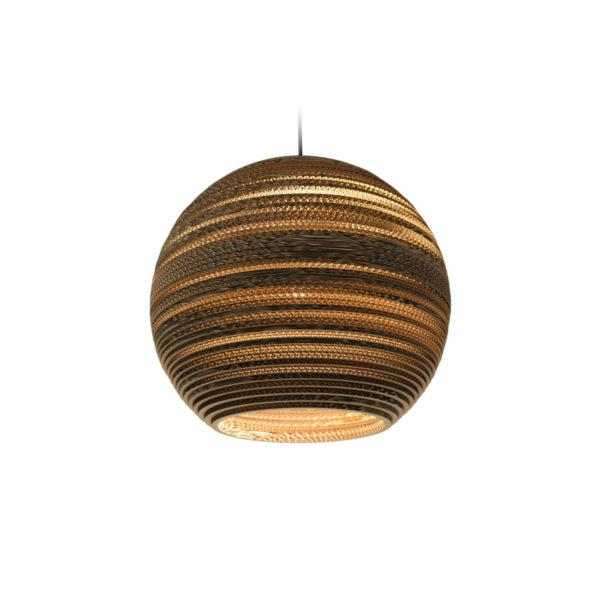 Moon Scraplights Recycled Pendant Light - Natural