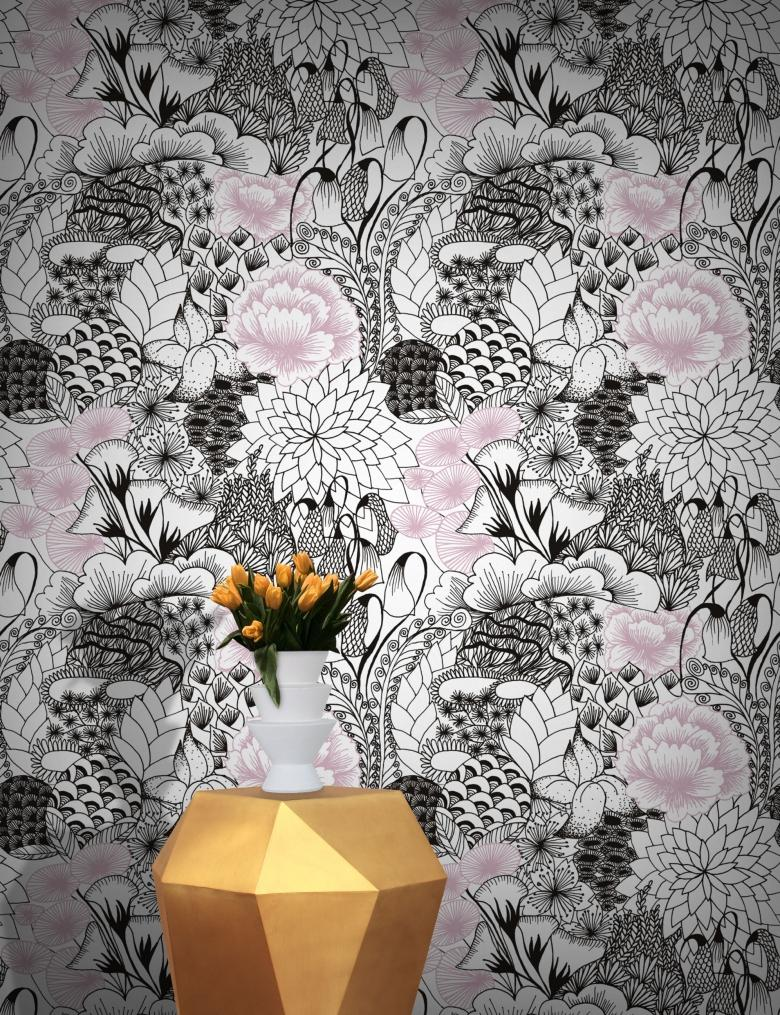 Bloom Wallpaper by Michiko Design