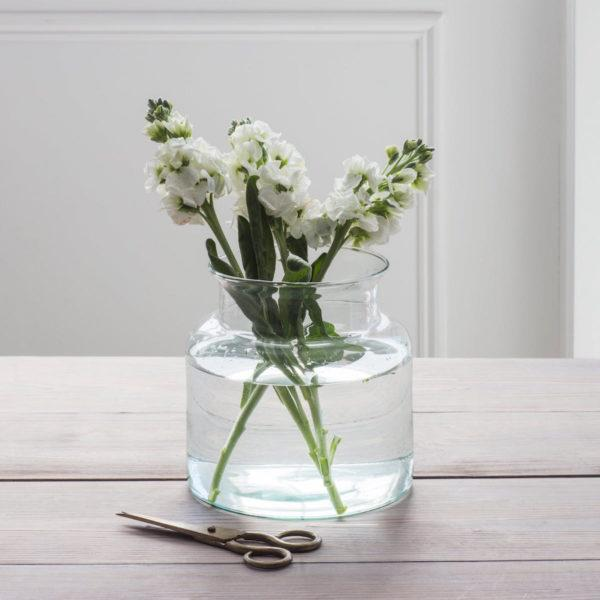 Broadwell Recycled Glass Vase