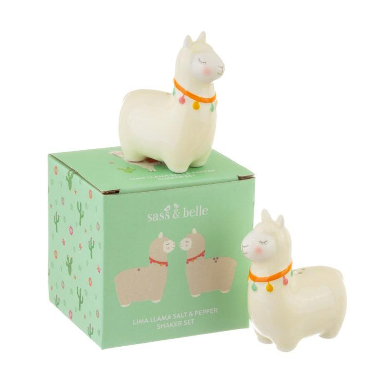 Lima Llama Salt & Pepper Shakers