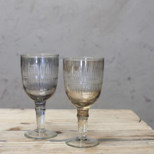 Abeeko Recycled Glass Wine Glass