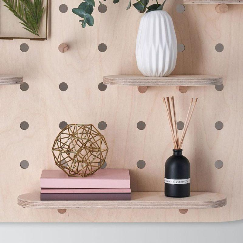 Curved Birch Plywood Pegboard