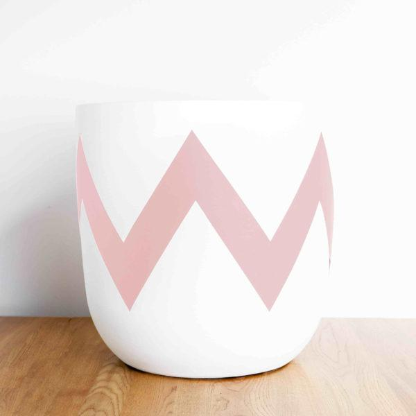 Ziggy Painted Planter by Pow Pots