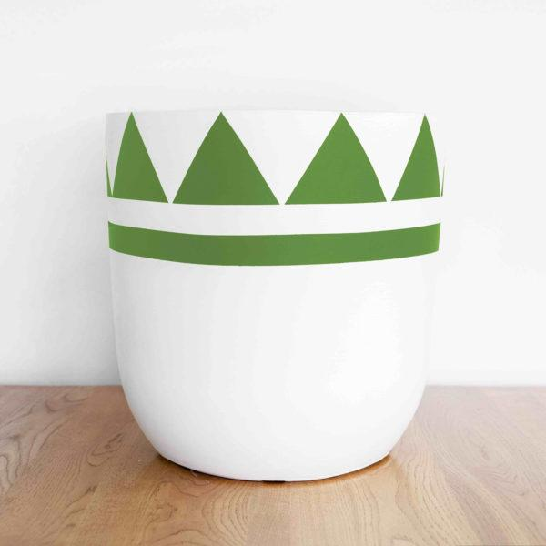 Queenie Painted Planter by Pow Pots