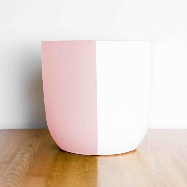 Half and Half Painted Planter by Pow Pots