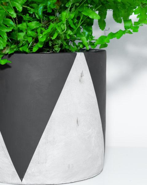 Concrete Queenie Planter by Pow Pots