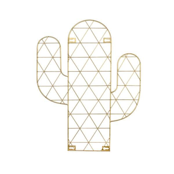 Cactus Wire Wall Grid Photo Holder