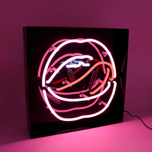 Mouth Acrylic Neon Light Box