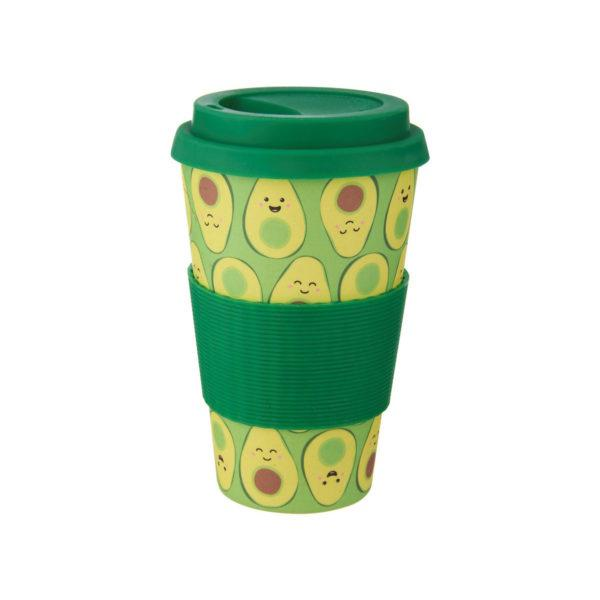 Memphis Modern Bamboo Coffee Cup
