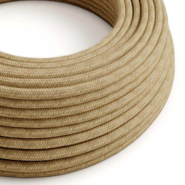 Fabric Braided Cable - Jute