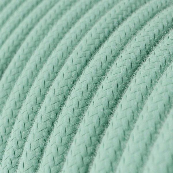 Fabric Braided Cable - Mint Green
