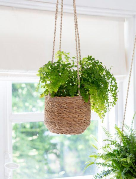 Jute & Seagrass Hanging Planters