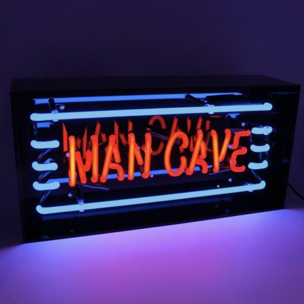 Mancave Acrylic Neon Light Box