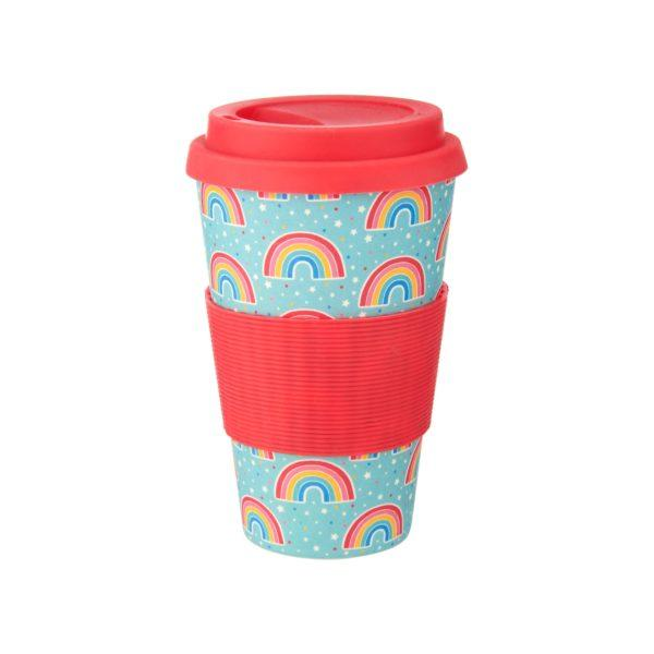 Chasing Rainbows Bamboo Coffee Cup