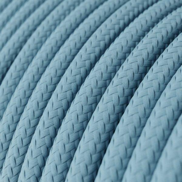 Fabric Braided Cable - Baby Blue