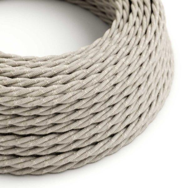 Fabric Braided Cable - Twisted Neutral